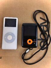 Lot of 2 Mp3 Players Apple iPod Nano 1st Gen 2Gb & Creative Zen V 1Gb ->Parts
