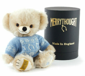 """SAVE! Merrythought 2018 CHRISTMAS CHEEKY 10"""" Jointed Mohair Ltd 100 - NEW!"""