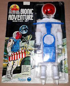 Kenner Six Million Dollar Man Bionic Adventure MISSION TO MARS Steve Austin MOSC