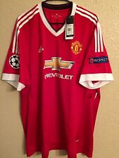 Manchester United Player Issue Adizero 3XL Adidas Soccer Shirt Football Jersey
