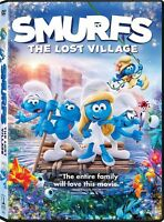 Smurfs The Lost Village (DVD, 2017)