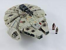 Star Wars Transformers MILLENNIUM FALCON Han Solo & Chewbacca Deluxe Crossovers