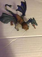 "2008 Chimera Mythical Realms 7.5"" Action Figure Safari Ltd Toy Dragon Lion Goat"