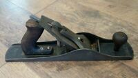 Antique Bailey Stanley Corrugated Bottom Wood Plane No. 5 Woodworking Tools *