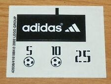 LEGO 3424 - Sports: Soccer - Target Practice - STICKER SHEET