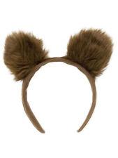 Kopfbügel mit Bären Ohren Bar Teddy braun Karneval Karneval