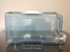 Made in USA -  3 Gallon Fridge Safe Plastic Water Bottle Dispenser (BPA-free)