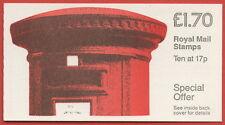 FT5ba £1.70 Pillar Box RM (Corrected) Decimal Booklet