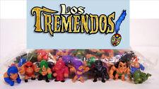 "100 LOS TREMENDOS Luchadores Wrestlers Bulk Bag 1"" Figures Figurines Party Favor"