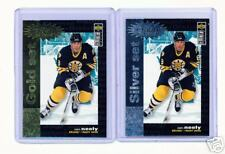 1995-96 UD CC CAM NEELY CRASH GOLD & SILVER CARDS