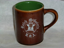 Vintage Butch McGuire'S Tavern Coffee Mug By Hall! Irish Green Interior! Cup!