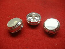 New Baritone/Euphonium Silver Finger Buttons, Fits Conn, Set of 3!
