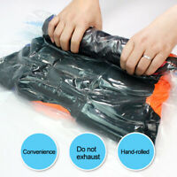 Scroll Type Vacuum Bag Vacuum Compression Bag Clothes Storage Travel Bag rf