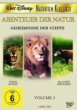 Walt Disney-The african Lion, Jungle Cat-Bear Country, James Algar 2DVDs - R2