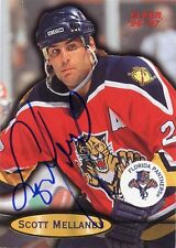 SCOTT MELLANBY PANTHERS AUTOGRAPH AUTO 96-97 FLEER #40 *31396