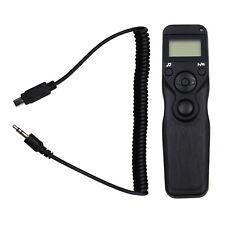 LCD Timer Remote Shutter Cord for Nikon D600 D3100 D3200 D5100 D5200 D7000 D7100