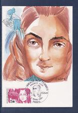 carte  1er jour hommage aux femmes   Flora Tristan 75 Paris  1984