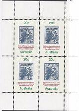 Australia Scott# 687a, Souv Sheet, Mnh, Og