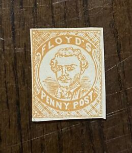 Vintage US Local/City Post Stamp, Floyd's Penny Post