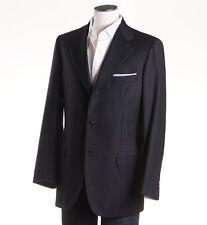 NWT $3895 BRIONI 'Nomentano' Charcoal Wool Blazer Classic-Fit 38 R Sport Coat