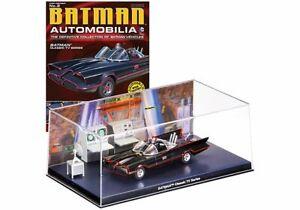 DC EAGLEMOSS Automobilia  #2 Classic TV Series 1966 BATMAN Model Comic Book NEW