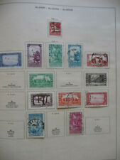 ALGERIEN 1930/1936, 8x gestempelt,Falz, 4x ungebraucht