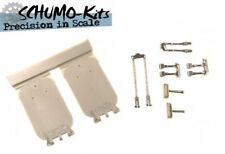 Schumo-Kits 1/16 Tamiya Panther G Resin Driver & Radioman Hatch Set (PA0017) New