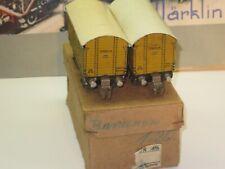 Märklin 00 700 800 2x 382 KK Blech Bananenwagen 1938 Doppel OVP Rarität !