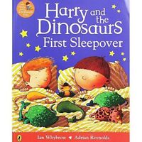 Harry and the Dinosaurs - HARRY AND THE DINOSAURS FIRST SLEEPOVER - NEW