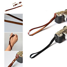 PU Leather Camera Hand Wrist Grip Strap for SLR DSLR Canon Nikon Pentax Sony