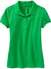 Old Navy Girl's Polo (Green) - Size: Large (10-12 years old)