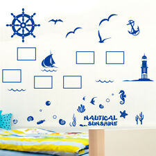 Ocean Photos Picture Home Bedroom Decor Removable Wall Sticker Decal Decoration