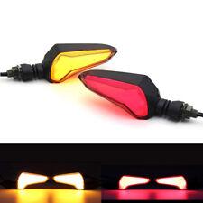 Motorcycle LED Light Flasher Turn Signal Indicator Amber/Red for Kawasaki Honda