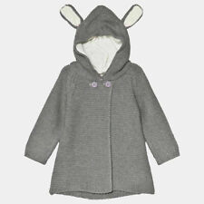 Stella McCartney Kids Smudge Grey Knitted Cardigan- 24 Months New with Tags