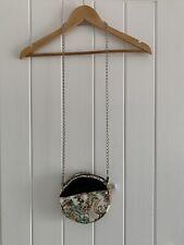 Handmade Round Cross Body Bag