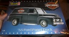 Revell 1955 Harley Davidson Ford Panel Truck 1/24 Model Car Mountain FS