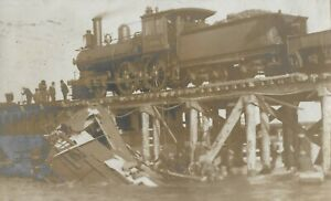 Philadelphia Steeplechase Pier Train posted 1906 to Glenties Donegal