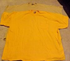 11fbcbe6 T-Shirts and Men's Clothing in Brand:Hanes, Color:Yellow | eBay