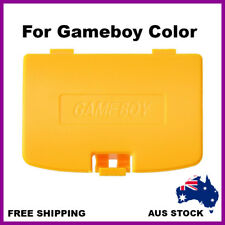Nintendo Gameboy Color Battery Replacement Back Door Cover Case Lid Yellow