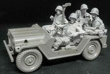 1:35 US Marines, 5-Soldiers Ford Mutt Crews,Resin Model Kit,Vietnam War (No Car)