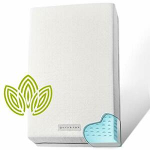 Organic Cotton Dual-Sided Crib Mattress | Waterproof Washable | 2-Stage, 2-in