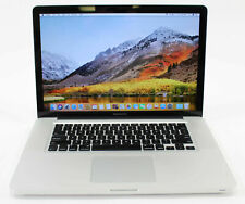 "Apple MacBook Pro 2010 15"" I7 2.66GHZ 8GB 500GB DVDRW WEBCAM WIFI HIGH SIERRA"