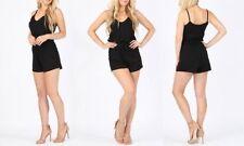 Jersey Regular Sleeveless Jumpsuits & Playsuits for Women