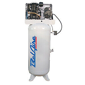 BelAire 216V 5-HP 2 Stage Electric Compressor, 60 Gal Tank   FREE SHIPPING*