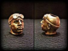 RIDDICK Brass Lanyard Bead Paracord DIY Bracelet Charms EDC Keychain Vin Diesel