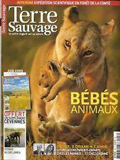 TERRE SAUVAGE n°250 juin 2009 Bébés animaux/ Bretagne sentiers nature/ Sri Lanka