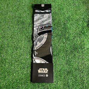 Stance Men's Star Wars Astromech Droid Starfighter pilot's Socks Size M NEW