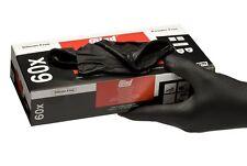 Colad Black Nitrile Gloves (Box of 60) [536000]