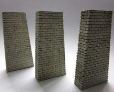 3 Stück Brückenpfeiler, H0, TT - 15 cm