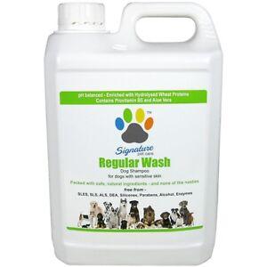 Signature Pet Care Regular Wash Dog Shampoo Concentrate 2.5L